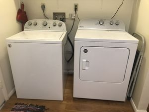 Whirlpool washer and dryer used for six months! for Sale in Alexandria, VA