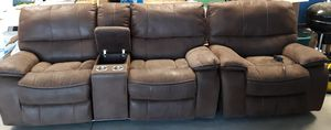 Dual Powered Reclining Loveseat for Sale in Sisters, OR