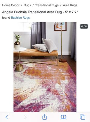 Fairly new abstract rug for Sale in Queens, NY
