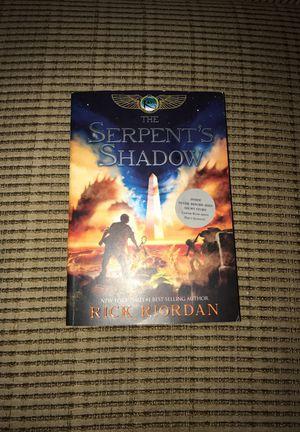 The Serpent's Shadow by Rick Riordan for Sale in Phoenix, AZ