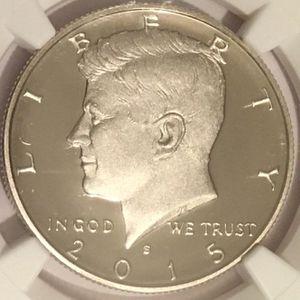 2015 S Kennedy Half Dollar Graded for Sale in Laurel, MD