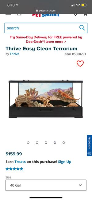 Reptile terrarium for Sale in Glendale, AZ