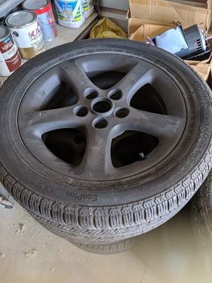 16 inch rims and tires for Sale in North Las Vegas, NV