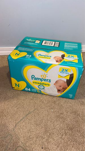 Huggies diapers and pampers swaddles for Sale in Bolingbrook, IL