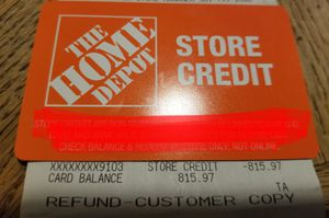 Home Depot Store Credit for Sale in Middletown, MD