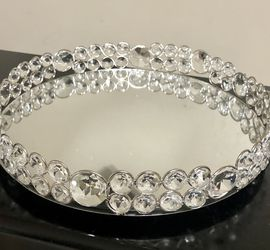 """Crystal Mirror Vanity Tray 10"""" NEW for Sale in Mokena,  IL"""