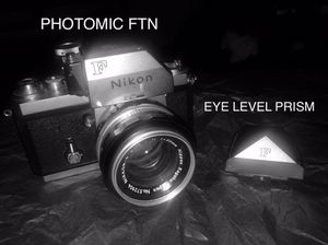 NIKON F | 35mm SLR Film Camera w/ NIKKOR-S AUTO 50mm f/1.4 LENS for Sale in The Bronx, NY