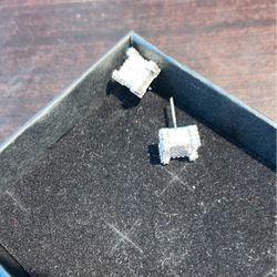 White Gold Diamond Earrings for Sale in Upper Marlboro,  MD