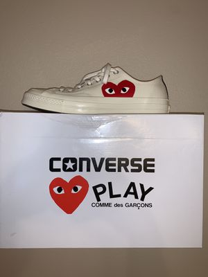 Men's size 10 comme de garçon converse for Sale in Pevely, MO