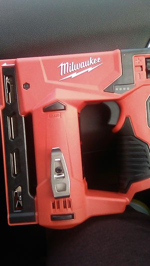 """Milwaukee M12 ⅜"""" Crown Stapler Brand New for Sale in Cleveland, OH"""