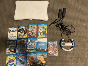 Nintendo Wii U console and games for Sale in Chandler, AZ