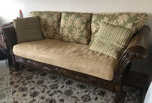 Sofa - solid wood for Sale in Boston, MA