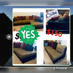Cheap Great condition Couch Pick up only for Sale in Orlando, FL