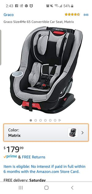 Graco Convertible Car Seat for Sale in Virginia Beach, VA