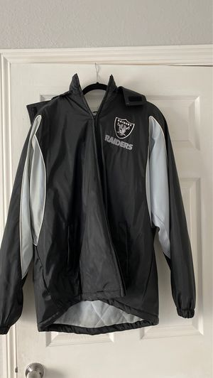 Raider Jacket Size L Offer Anything for Sale in Palo Alto, CA