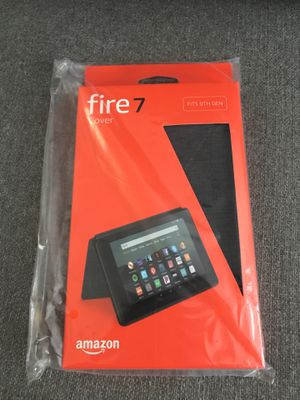 Amazon fire 7 tablet black CASE for 9th gen for Sale in Mansfield, TX
