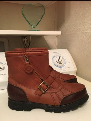 RALPH LAUREN POLO SPORTS BOOTS FOR MAN SIZE 13D for Sale in Fort Worth, TX