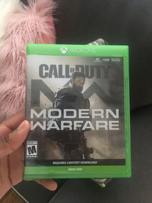 Modern warfare for Xbox one or trading for something for Sale in Chicago, IL