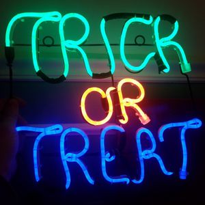 LED Neon Trick Or Treat Sign for Sale in Potomac, MD