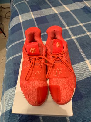 Harden Basketball Shoes Size 11 Red for Sale in Highland, MD