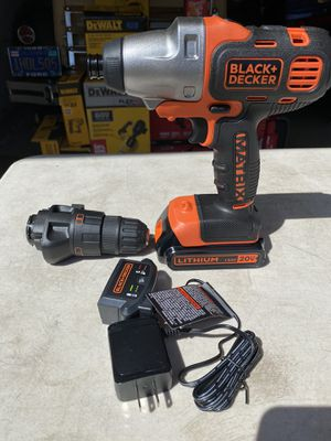Black & Decker 20v Matrix Drill/Impact Kit for Sale in Ontario, CA