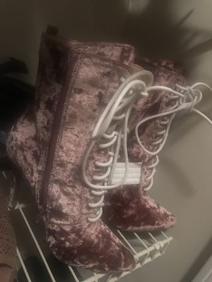 Pink boots for Sale in Marietta, GA