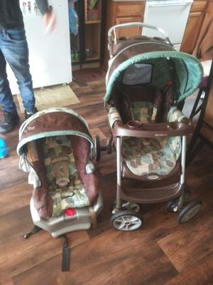 Greco matching car seat and stroller for Sale in Lexington, NC