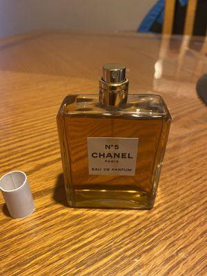 Chanel N°5 Eau De Parfum 3.4 Oz. Tester. No Tester Box, Bottle Only . 100% Full & 100% AUTHENTIC!! WOMEN PERFUME (BRAND NEW) READ DESCRIPTION for Sale in Philadelphia, PA