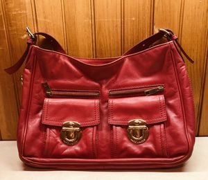 Marc Jacobs Bag Red leather for Sale in Needham, MA