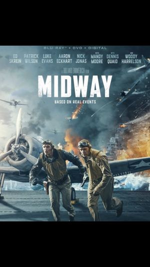 Midway Blu Ray Digital Code (No Discs) for Sale in Fort Worth, TX