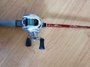 Johnny Morris platinum signature series fishing rod & reel for Sale in Peoria, AZ