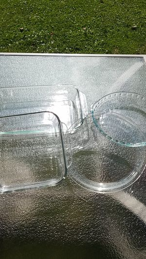 Pyrex glass baking sheets pie pans for Sale in Addison, IL