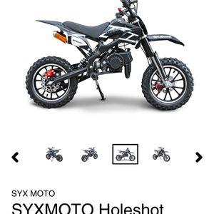 new 50cc syx moto kids dirtbike for Sale in Buffalo, NY