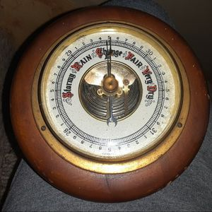 Vintage Weather Barometer for Sale in Stafford Township, NJ