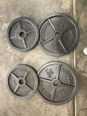 160lbs of Olympic Barbell weight for Sale in Seattle, WA