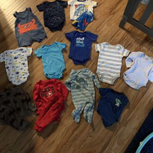 0-3 Month Baby Boy Clothes for Sale in Upland, CA