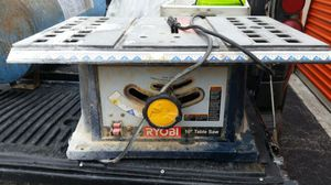 Table Saw Ryobi $70 for Sale in Miami, FL