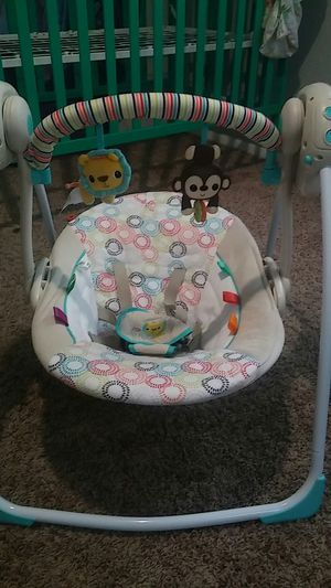 Bright Starts baby swing for Sale in Upper Saint Clair, PA