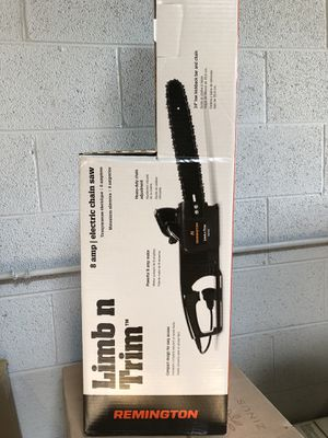 Remington Limb n trim 8 amp electric chainsaw for Sale in Itasca, IL