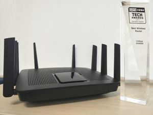 Linksys EA9500 Max-Stream AC5400 MU-MIMO Gigabit WiFi Router for Sale in Shelby Charter Township, MI