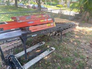Ladder rack and palette jack for Sale in NEW CARROLLTN, MD