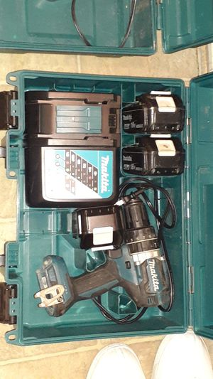 Makita brushless drill and battery³ and charger² for Sale in Sacramento, CA
