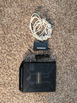 NETGEAR - Nighthawk Dual-Band AC1900 Router with 24 x 8 DOCSIS 3.0 Cable Modem for Sale in Mission Viejo, CA