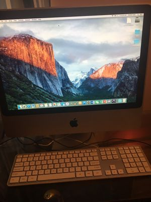 Mac desktop 2009 20inch for Sale in Endicott, NY