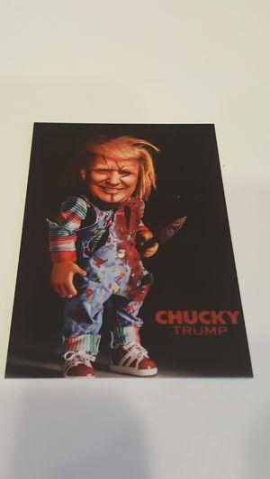 Donald Trump Chucky custom baseball card for Sale in Mundelein, IL