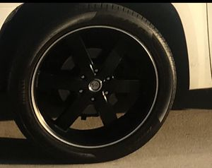 """22 """" rims and tires (GMC ,CHEVY) for Sale in Anaheim, CA"""