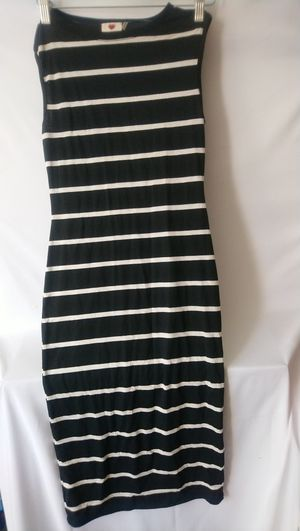 Women's Black And White Striped Dress Size S for Sale in Silver Spring, MD