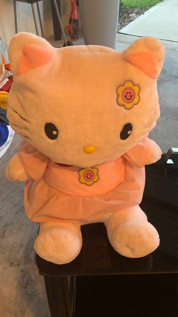 Hello kitty stuffed animal
