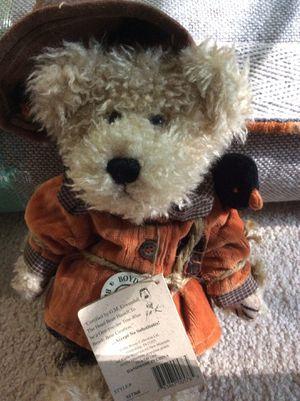 Boyds bear scarecrow Adorable for Sale in Newport News, VA