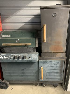 Brinkmann BBQ grill and smoker for Sale in Imperial Beach, CA